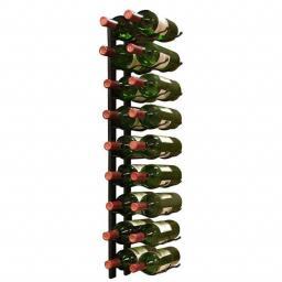 Vino Wall Rack 2x9 bottles - winestorageuk