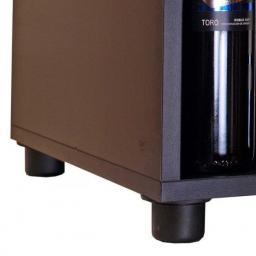 Adjustable legs 34-55mm (set of 4 pieces and 16 screws) - winestorageuk