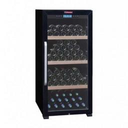 La Sommeliere CTVNE142A - Wine Fridge - Single Zone Wine Cooler - 149 Bottles - winestorageuk