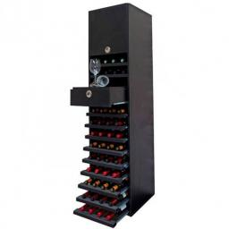 RENATO wine rack JOST combination, holds 44 bottles - winestorageuk