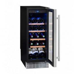 La Sommeliere CVDE21 - Wine Fridge - Single Zone Wine Cooler Under Counter 290mm - 21 Bottles - winestorageuk