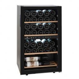 Cavecool Chill Ruby Wine Fridge - 34 bottles - Dual zone Wine cooler - Black - winestorageuk
