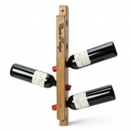 Vinikea -Wine holder Cuvee Prestige for wall mounting 5 bottles in solid oak