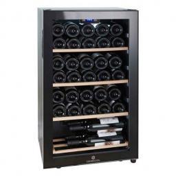 Cavecool Chill Ruby Wine Fridge - 34 bottles - Single zone Wine cooler - Black - winestorageuk