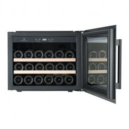 CaveCool Morion Bornite Wine Fridge - 28 bottles - single zone Integrated wine cooler - 545mm Wide - Black - winestorage