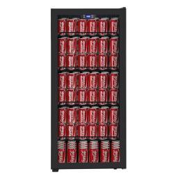 Cavecool Chill Display -  CC102SB-CD - 185 can Drinks fridge - Single zone - Black - winestorageuk