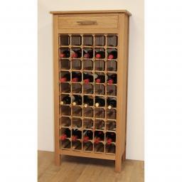 50 BOTTLE WINE CABINET WITH DRAWERS - winestorageuk