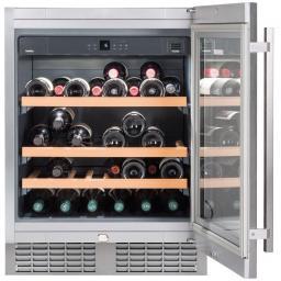 Liebherr UWKes1752 GrandCru - Single Zone - Integrated Wine Cooler - 597mm Wide - 46 Bottles - winestorageuk