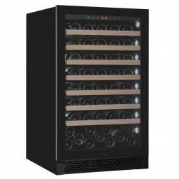 Pevino PNG88S-HHB Wine Fridge - 95 bottles - Built In - 1 Zone Wine Cooler - 595mm Wide - Black - winestorageuk