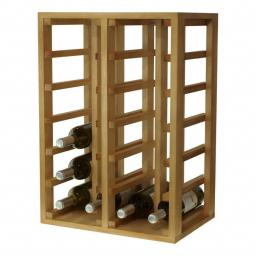 Vito - 24 bottle wine rack - Pinewood