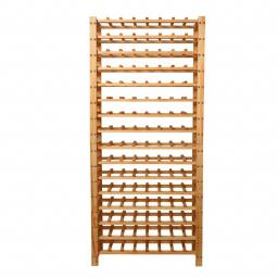 Eliza Wine rack - 64 bottles - Pine - winestorageuk