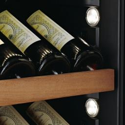 swisscave-wlb-460dfld-black-edition-dual-zone-wine-cooler-wine-fridge-with-gastro-furnishing-124-210-bot-595mm-wide-5235