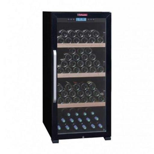 La Sommeliere CTVNE142A - Wine Fridge - Single Zone Wine Cooler - 149 Bottles