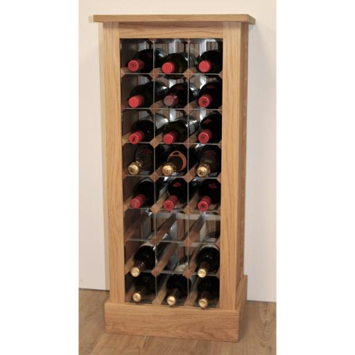 24 BOTTLE WINE CABINET - winestorageuk
