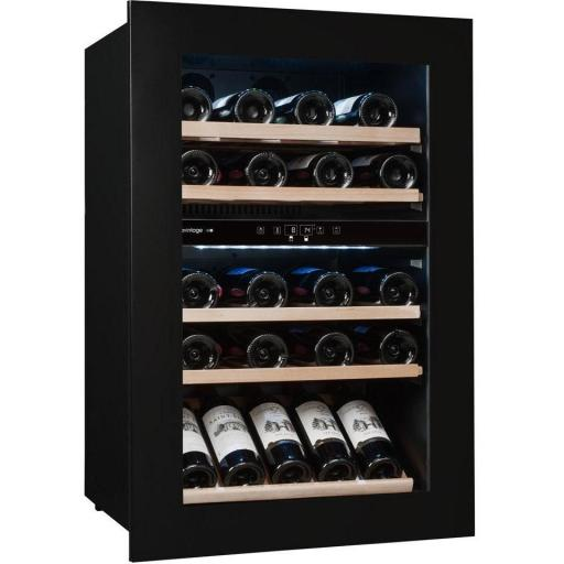 Avintage - Dual Zone - Integrated Wine Service Cabinet / Wine Cooler - 52 bottles- AVI48 PREMIUM - 594mm Wide