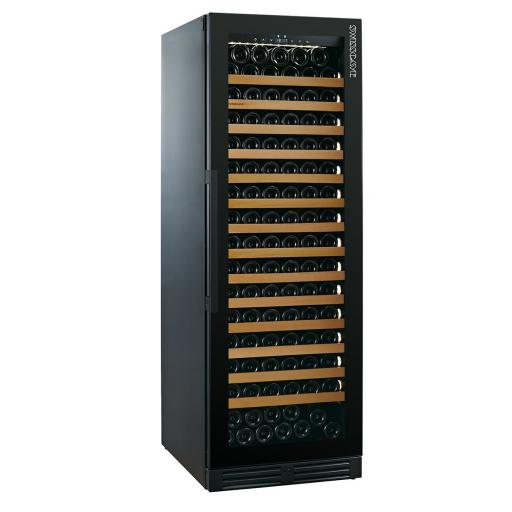 Swisscave NEW: WLB-460F-BGDY - Burgundy Edition Single Zone Wine Cooler / Wine Fridge (145 - 161 BOT) - 595mm Wide