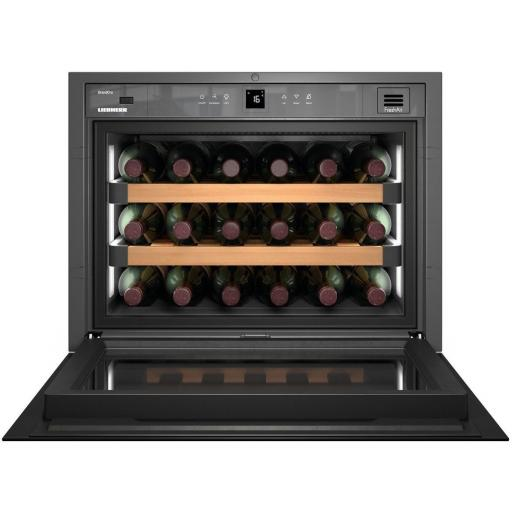 Liebherr WKEgb 582 GrandCru - Single Zone - Integrated Wine Cabinet - 550mm Wide - 18 Bottles