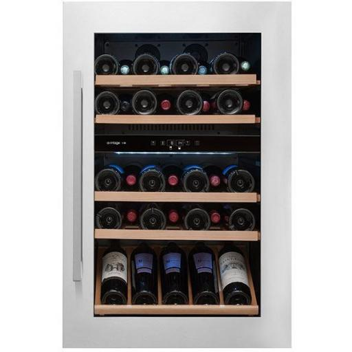 Avintage - Dual Zone- Integrated Service Wine Cabinet / Wine Cooler - 52 bottles* AVI47XDZA - 594mm Wide