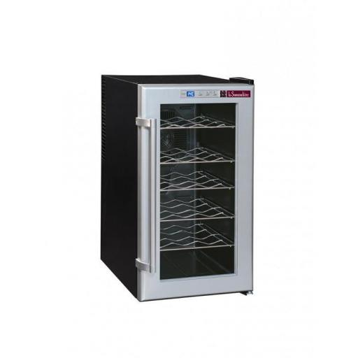 La Sommeliere - LSC18 - Single Zone - Thermoelectric Wine Cellar / Wine Cooler - 18 Bottles - 345mm Wide
