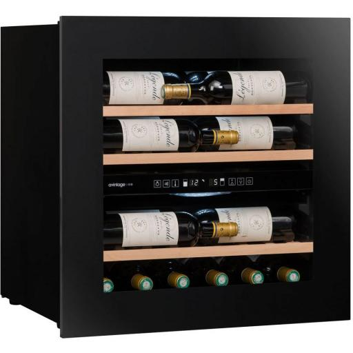 Avintage - Integrated Dual Zone Wine Cabinet / Wine Cooler - AVI60 PREMIUM - 590MM WIDE