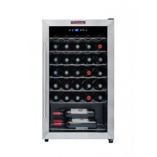 La Sommeliere - LS34A - Single Zone Built In Wine Cellar / Wine Cooler - 34 Bottles - 480mm Wide