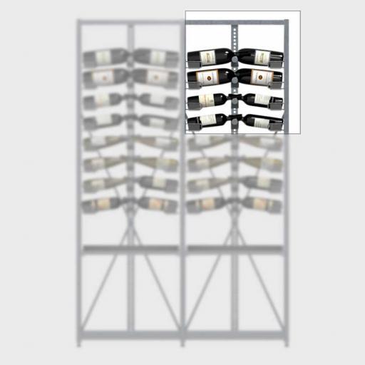 Xi Top - Extension - 4 standard shelves - 52 bottle wine rack