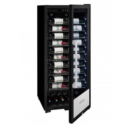 La Sommeliere PF110 - Wine Fridge - Freestanding Single Zone Wine Cooler - 107 Bottles