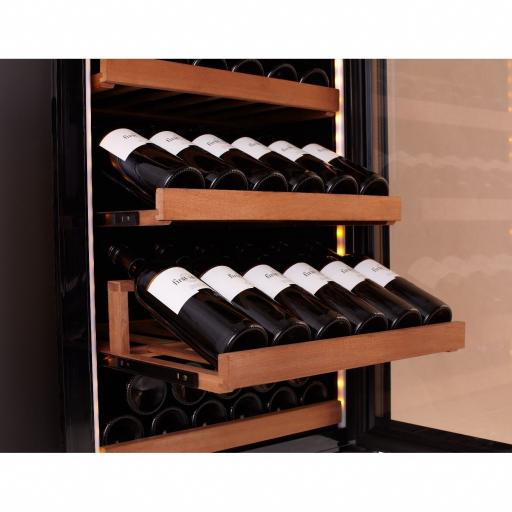 swisscave-wlb-450fl-black-edition-single-zone-wine-cooler-wine-fridge-with-ambiente-furnishing-166-220-bot-600mm-wide-26