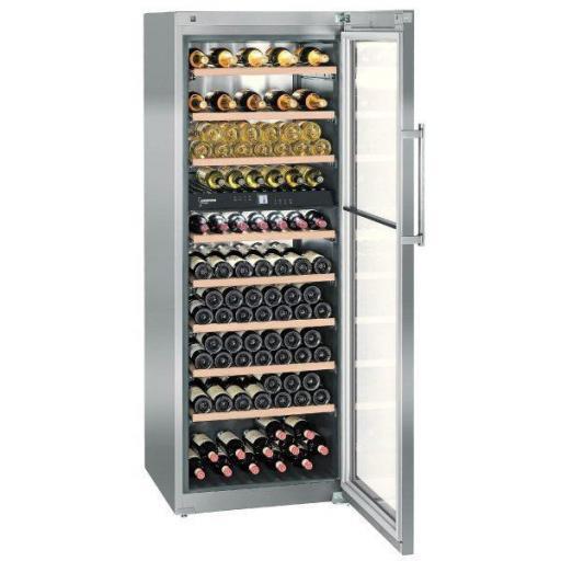 Liebherr WTes 5972 Wine Fridge Vinidor Dual Zone Wine Cabinet - 211 bottles - 700mm wide