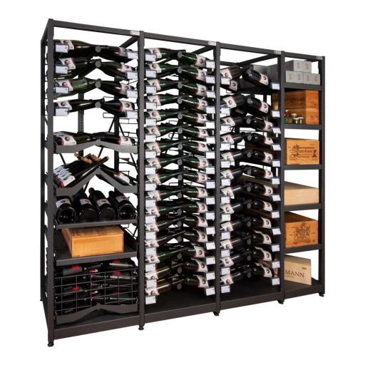 Xi Rack - Combination D - 494 bottle wine rack