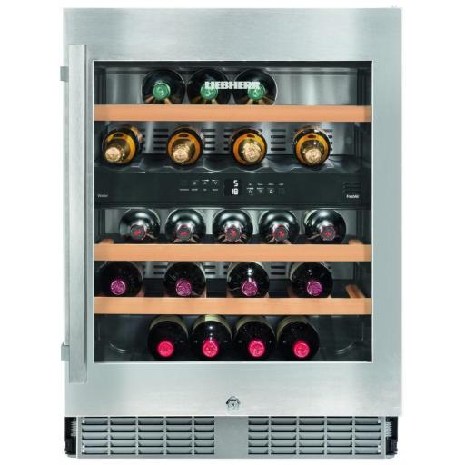 Liebherr Wtes 1672 Vinidor - 2 Zone - Integrated Wine Cabinet - 598mm Wide - 34 Bottles