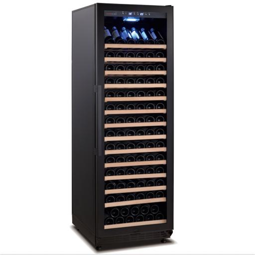 Swisscave - Black Edition - Single Zone - Freestanding Wine Cooler - WLB-450F (178-220 BOT)