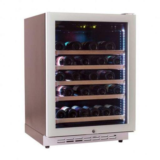 Pevino EVO PE46S-HHWN 46 bottles - Single zone wine cooler - White