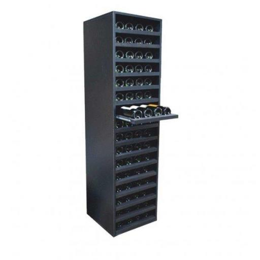 RENATO wine rack JOVINA, withdrawable, holds 64 bottles of wine - winestorageuk