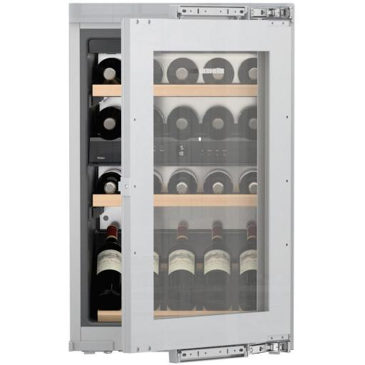 Liebherr EWTdf 1653 Vinidor - 2 zone - Integrated Wine Cabinet - 560mm Wide - 30 Bottles