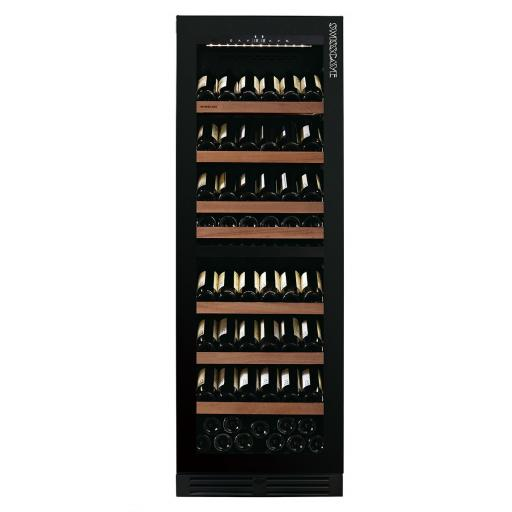 swisscave-wlb-460dfld-black-edition-dual-zone-wine-cooler-wine-fridge-with-gastro-furnishing-124-210-bot-595mm-wide-4920