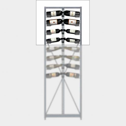 Xi Top - 4 standard shelves - 52 bottle wine rack