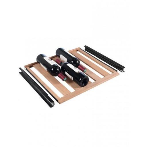 La Sommeliere - CLAVIP06 Wooden sliding shelf