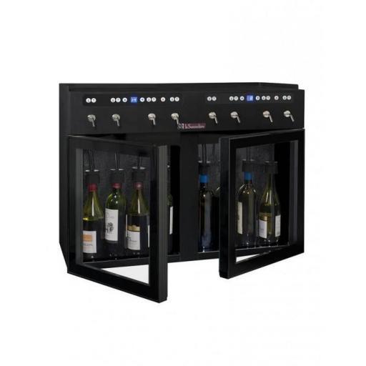 La Sommeliere - DVV8 - Double-zone wine dispenser