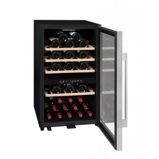 La Sommeliere ECS50.2Z - Wine Fridge - Dual Zone Wine Cooler - 49 Bottles - 480mm Wide