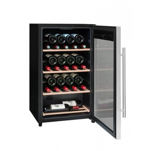 La Sommeliere LS36A Wine Fridge - 36 bottles - Single zone Wine Cooler - 480mm Wide