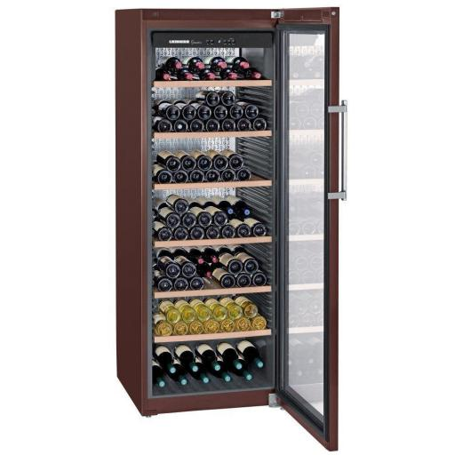 Liebherr WKT5552 Grandcru - Freestanding Wine Cabinet - Terra Brown - 700mm Wide - 253 Bottles