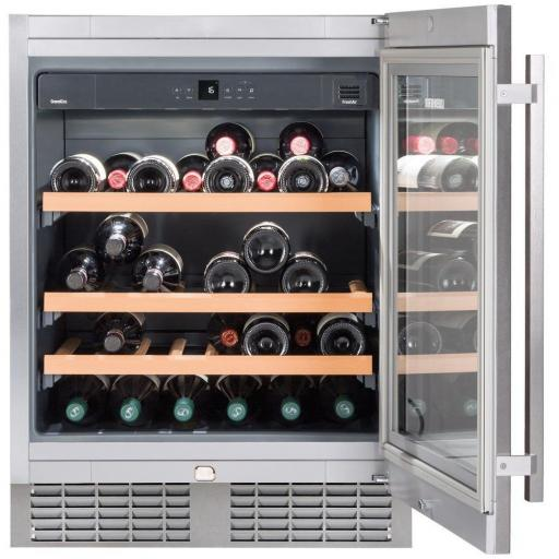 Liebherr UWKes1752 GrandCru - Single Zone - Integrated Wine Cabinet - 597mm Wide - 46 Bottles