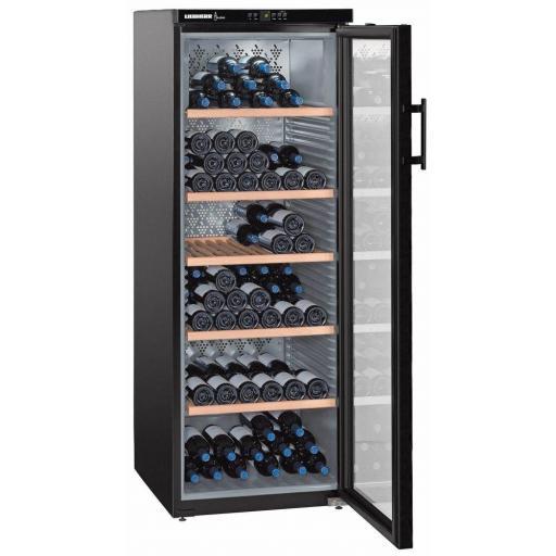 Liebherr WKb 4212 Vinothek Single Zone - Freestanding Wine Cabinet - 600mm Wide - 200 Bottles
