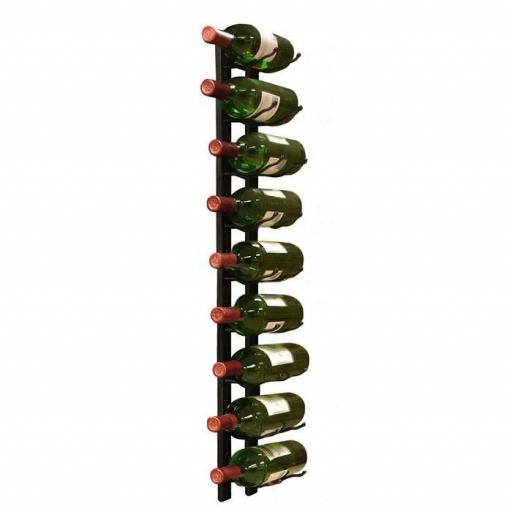 Vino wall rack 1x9 Bottles - winestorageuk