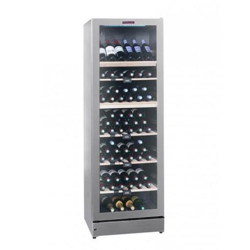 La Sommeliere VIP195G multi-zone ageing wine cellar 195 bottles - Freestanding Wine Fridge -595mm Wide
