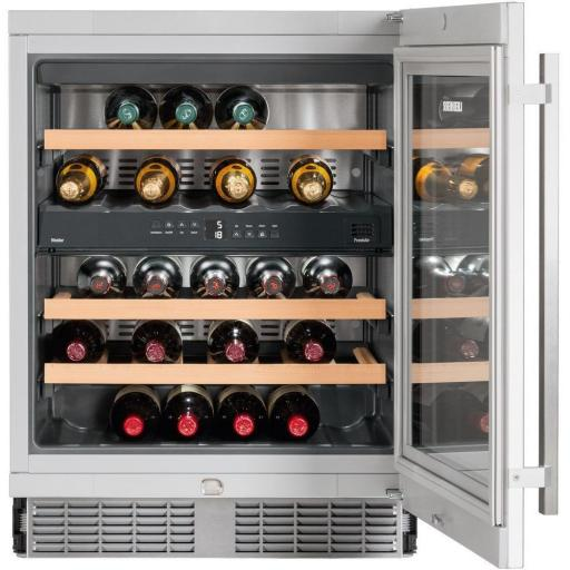 Liebherr UWTes1672 Vinidor - 2 zone - Integrated Wine Cabinet - 597mm Wide - 34 Bottles