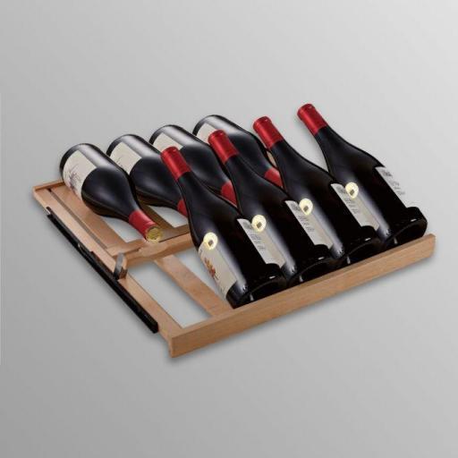 Swisscave - Series 460/360 Beachwood shelf Burgundy optimised- fully extendable