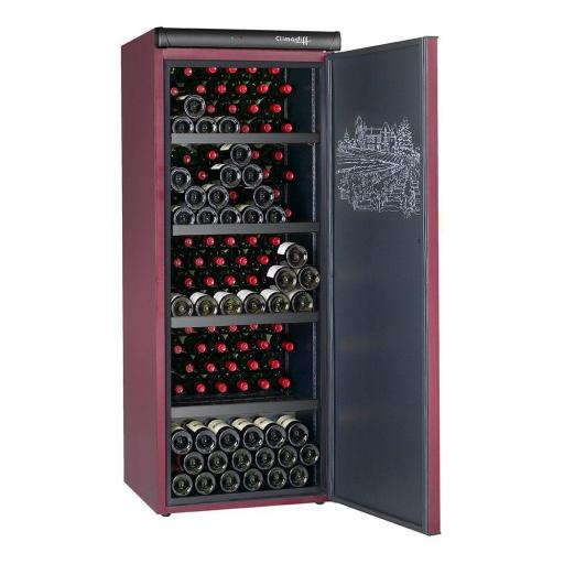 Climadiff - CVP215 - Wine Ageing Cellar - Single Zone - 216 Bottles - 620mm Wide