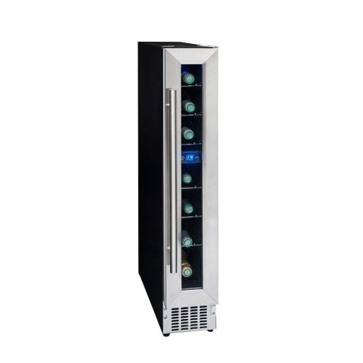 Climadiff - CLE7 Single Zone - Under-Counter Service Cellar / Wine Cooler - 150mm Wide